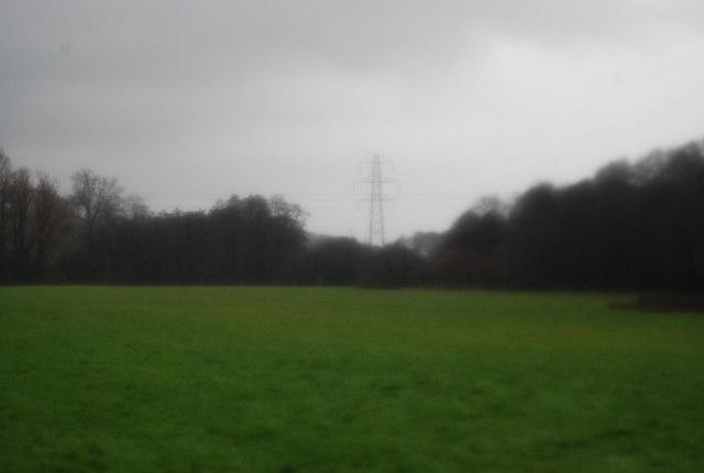Pylon near Stogumber Station
