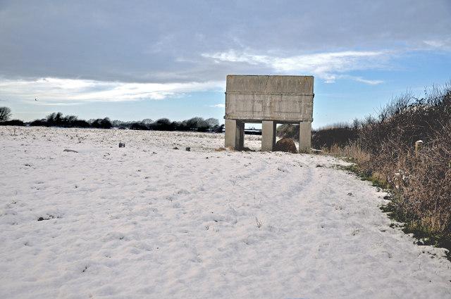 Cold water tank - Llantwit Major