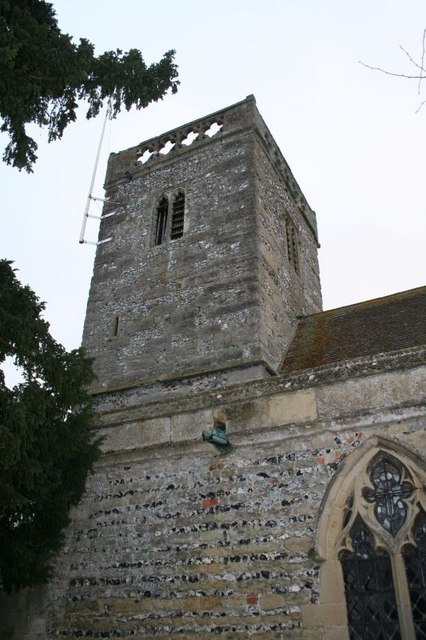 Tower by the porch
