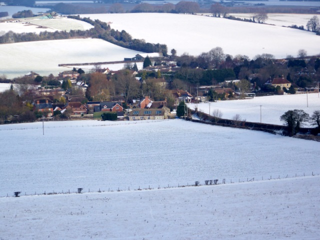 View towards Croucheston