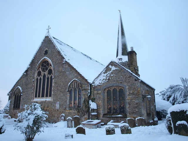 Cuckfield Church from the north-east.