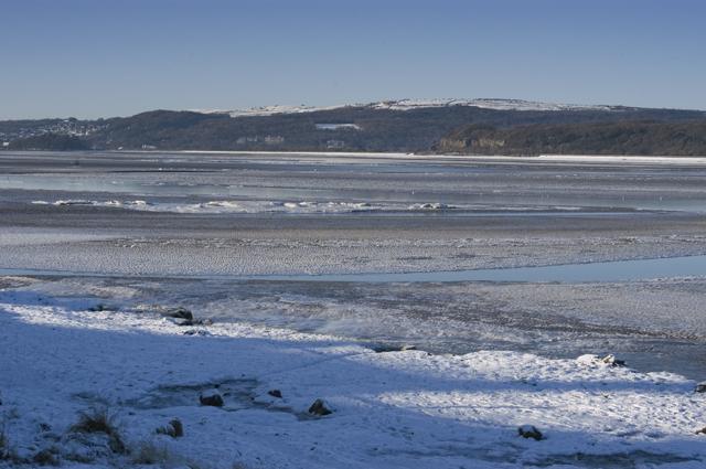 Frozen Kent Estuary