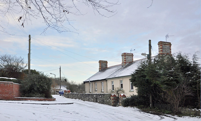 Cottages on Flanders Road - Llantwit Major
