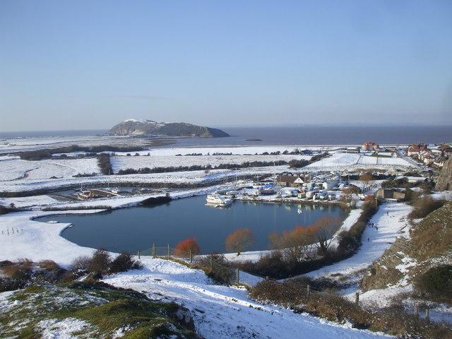 The Marina, Uphill