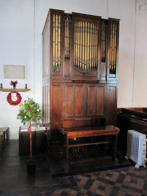 Organ in the church