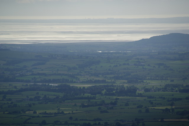 View to the west from Ingleborough