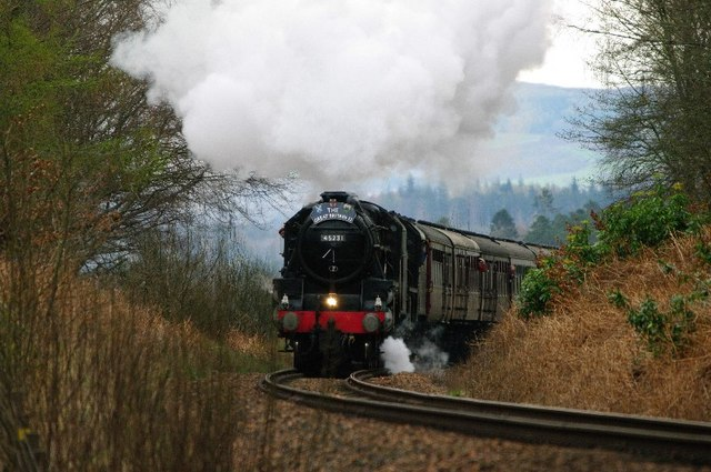 Great Britain 2 Steam Train  at Kingswood