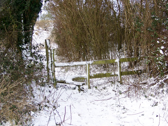 Stile, Bishopstone Hollow