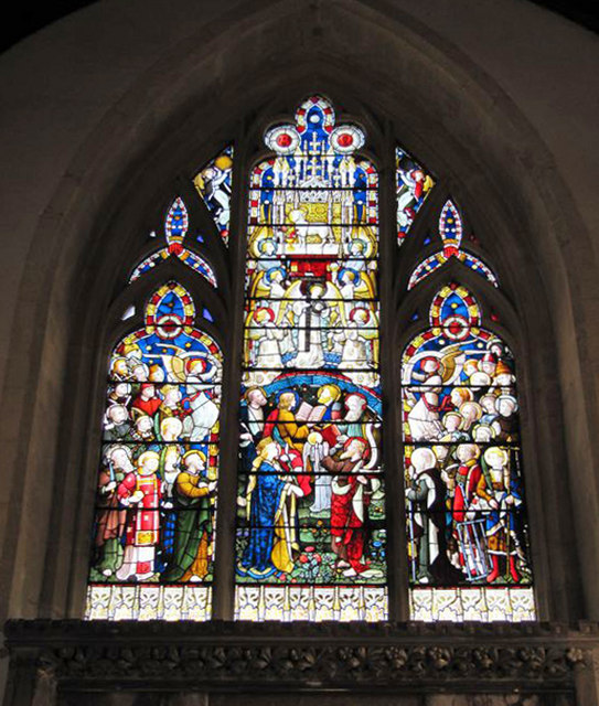 Window in the chancel