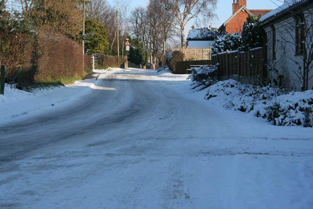 Burden Lane, Harby