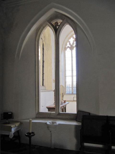 Window on the chapel