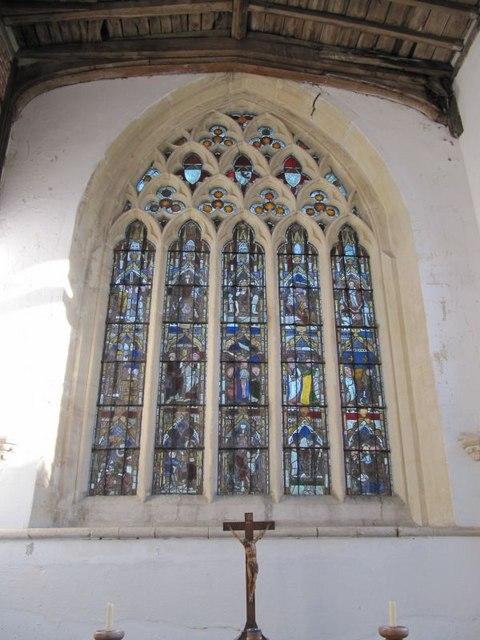 East Window of Stapleton's Chantry