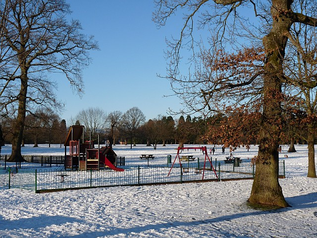 Children's play area, Tredegar House Country Park