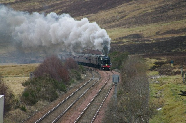 Great Britain 2 Stream Train at Dalnacardoch