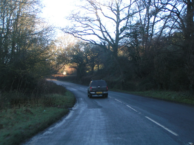 Heading for Bickleigh on the A396