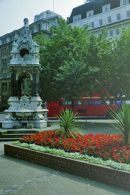Drinking fountain, Finsbury Square