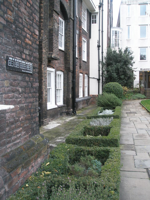 Kitchen garden within Lincoln's Inn