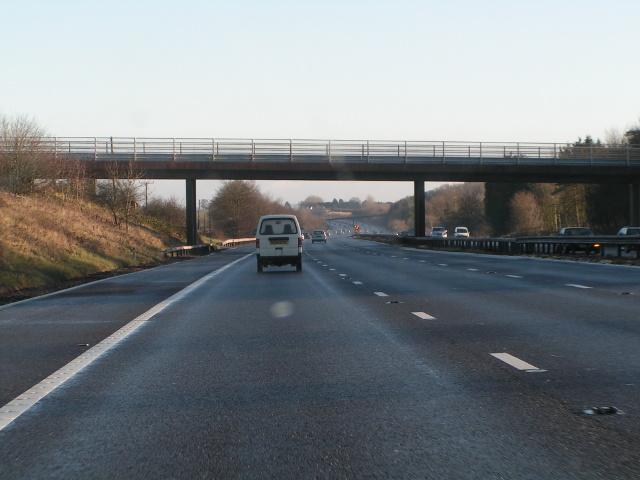 Northbound M5