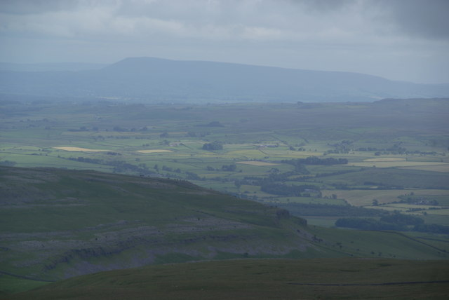 View south from Ingleborough