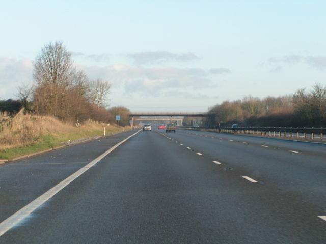 M5 northbound near Taunton