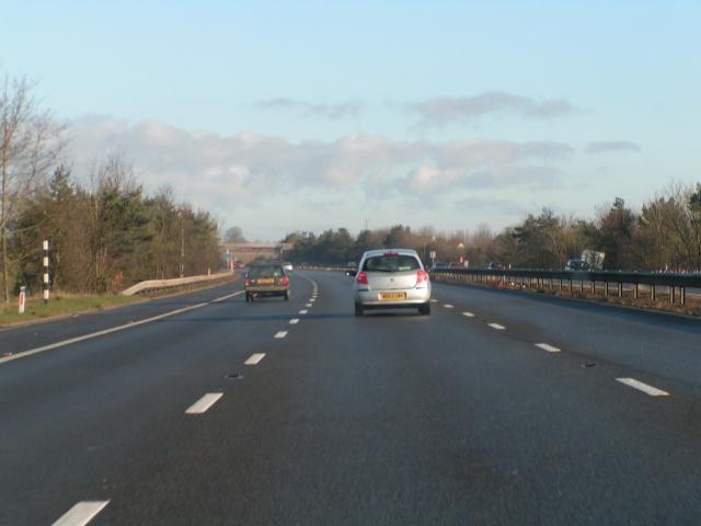 M5 northbound near Creech Heathfield