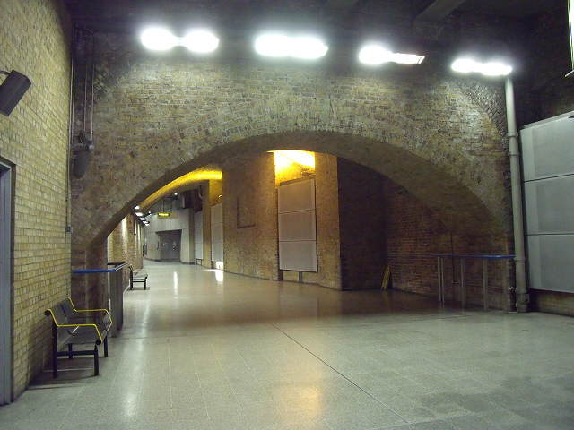 Waterloo station: undercroft