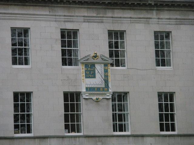 Sundial within Lincoln's Inn