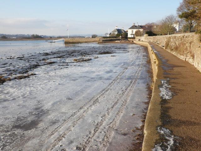 Ice, near the Goat Walk, Topsham