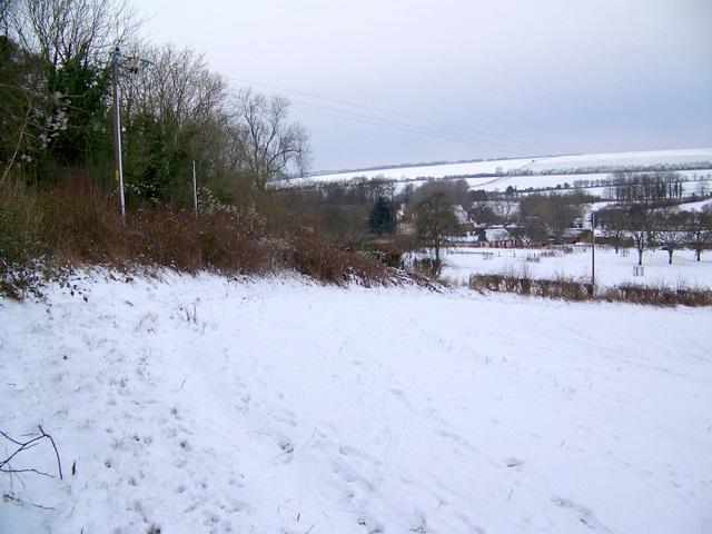 Footpath near Stoke Farthing