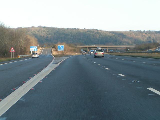 M5 northbound junction 20