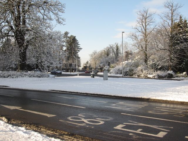 Overleigh Roundabout and Hough Green