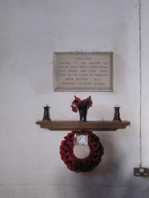 Second memorial