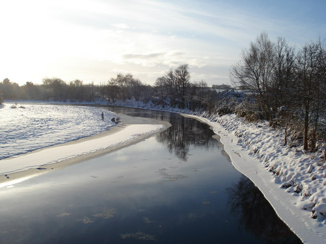 River Findhorn in Winter
