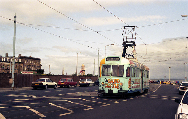 Tram at Fleetwood Ferry