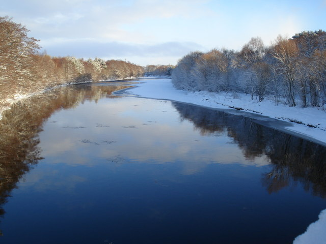 River Findhorn in Winter
