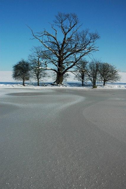 Frozen Croome Park