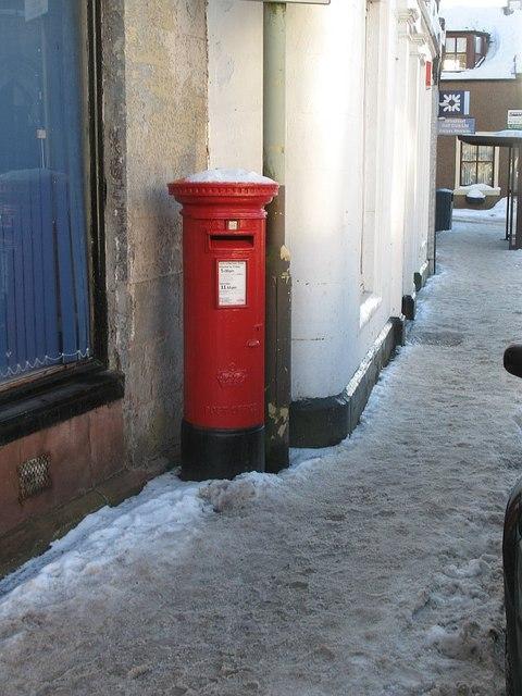 Pillar box, Milnathort