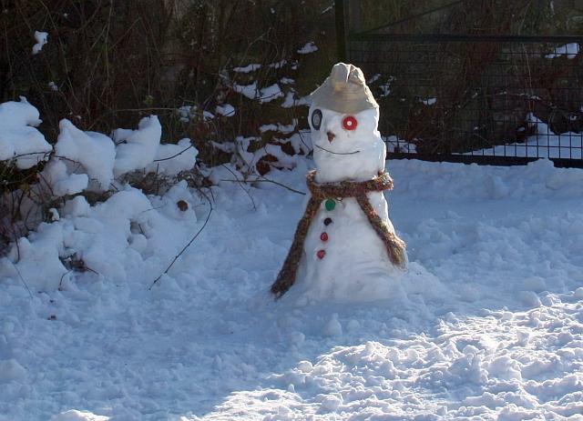 Little Malvern snowman