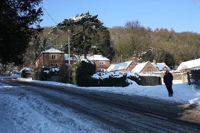Entrance to North Farm, Little Malvern