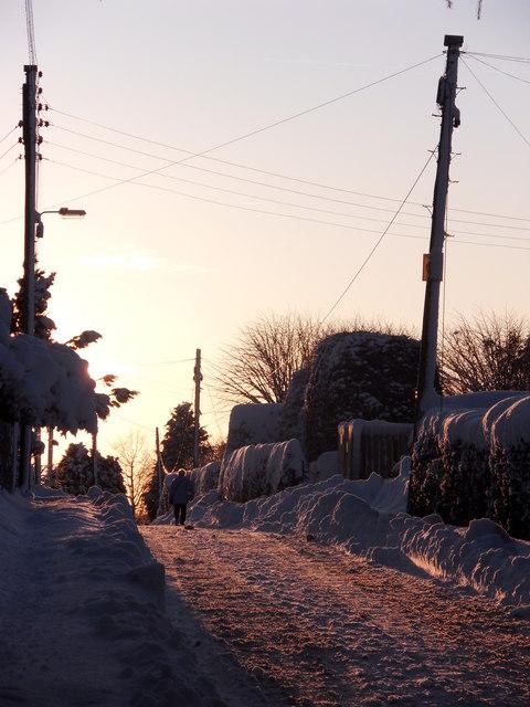 Todlaw Road, Duns