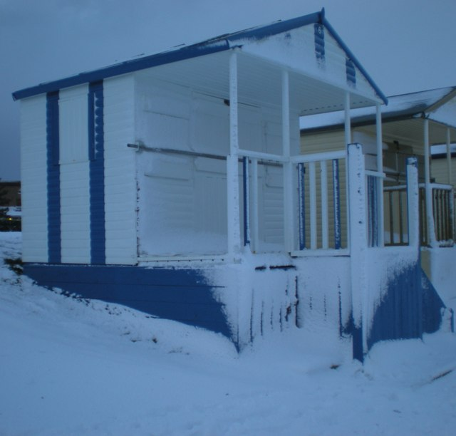 Beach hut at Swalecliffe