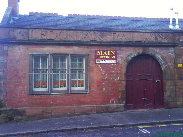 Caledonian railways building