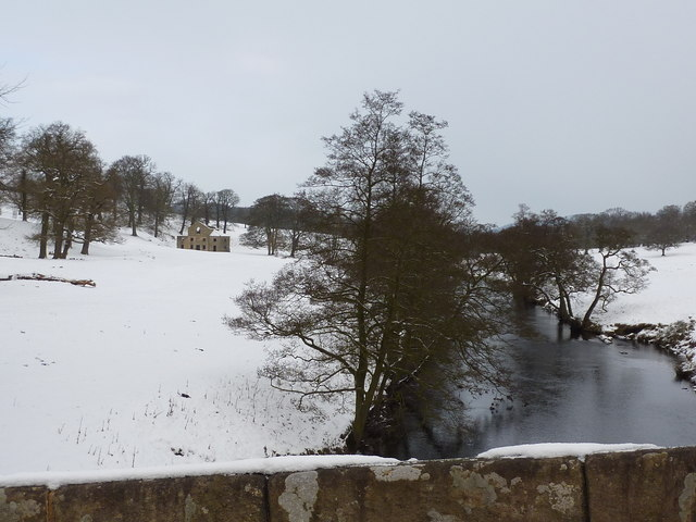 River Derwent from the Beeley bridge