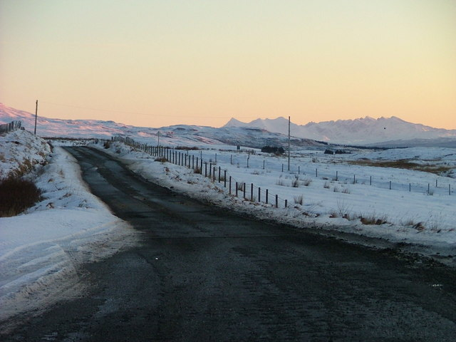 The road to Uig