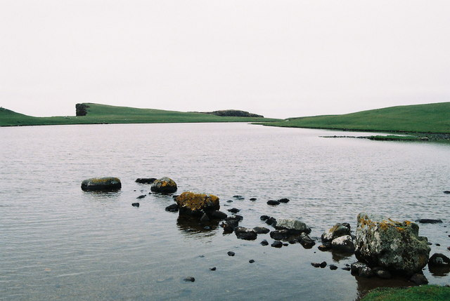 Lochs of Dridgeo - northernmost loch