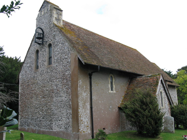 The western end of St Peter and St Paul's church, Sutton