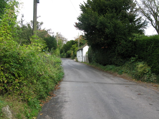 View along Church Hill, Sutton