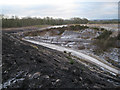 SX8476 : Track into Newbridge ball clay quarry by Robin Stott