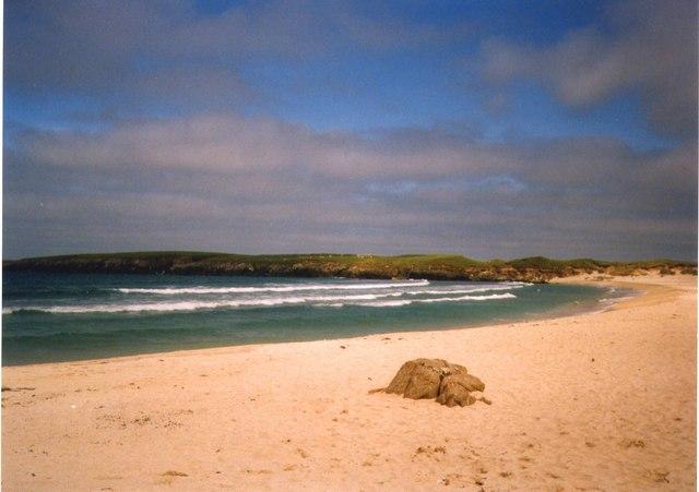 Breckon Sands, Yell, Shetland