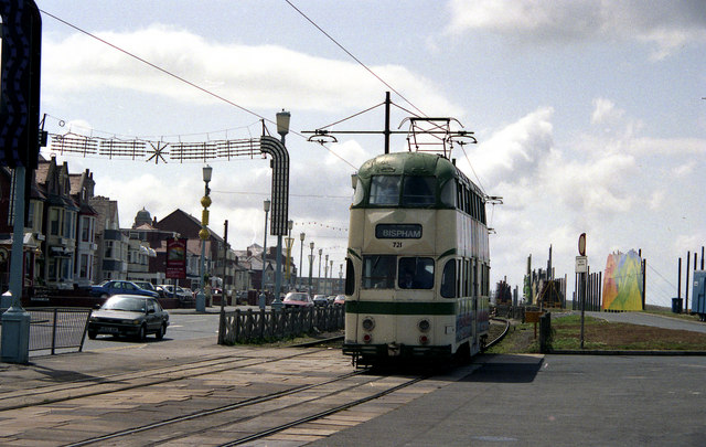 Tram at Bispham